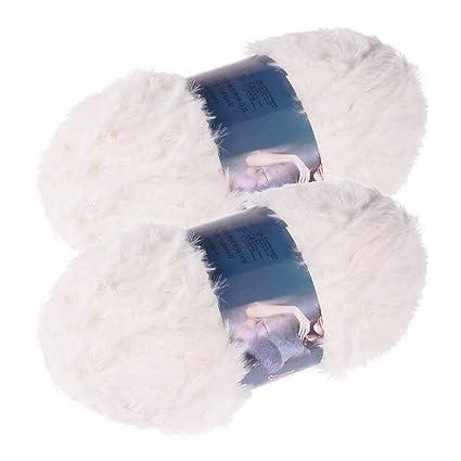 Healifty 2 Unids Hilo de Ganchillo Hilo de Tejer Crochet ...