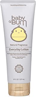 product image for Baby Bum Everyday Lotion | Moisturizing Baby Body Lotion for Sensitive Skin with Shea and Cocoa Butter| Natural Fragrance | Gluten Free and Vegan | 8 FL OZ