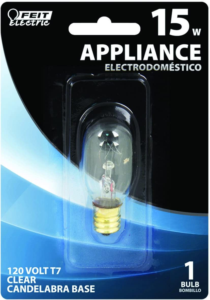 Feit Electric BP15T7N 15-Watt T7 Tubular Appliance Bulb Clear