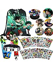 My Hero Academia Bag Gift Set Bag+Blacelet+Keychain+Button+Phone Holder+Stickers or Poster or Pillow Case or Necklace