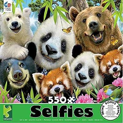 Selfies Bear Essentials Puzzle - 550Piece: Toys & Games