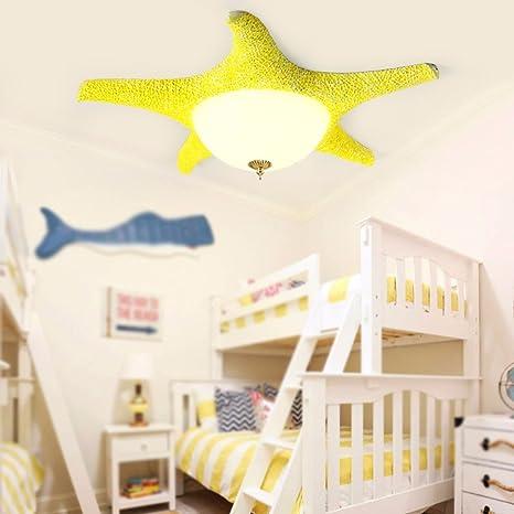Xhopos Home Ceiling Light Modern Children S Room Resin Iron Glass