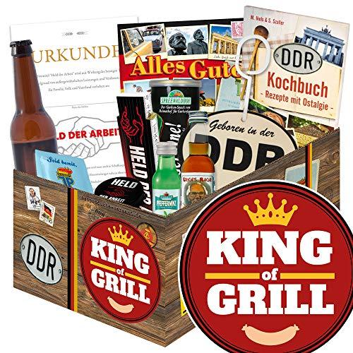 King of Grill / Männer Geschenk Set / Geburtstagsgeschenk grillen