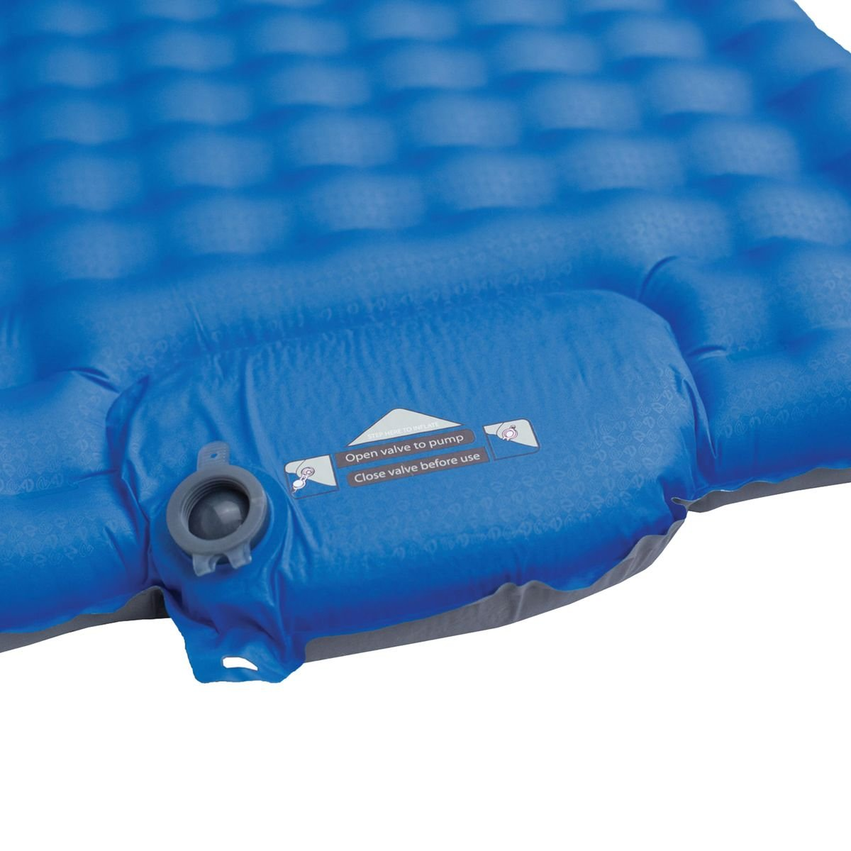 Vector Field Insulated Pad + Voetpomp 25 Long - Blauw: Amazon.es: Deportes y aire libre