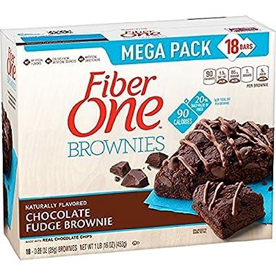 Fiber One 90 Calorie Brownies Mega Pack, Chocolate Fudge from Fiber One Snacks