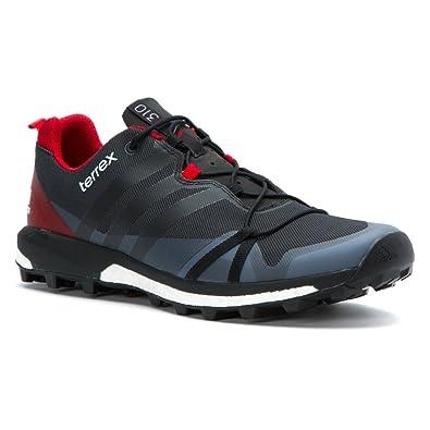 Men adidas Outdoor Terrex Agravic Dark Grey/Black/Power Red