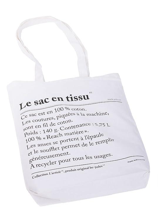 Funda de algodón, bolsa, bolsa de la compra color blanco, 100 ...