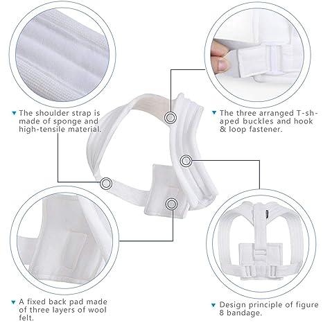 Amazon.com: Velpeau Figure 8 Clavicle Brace - Eslinga de ...