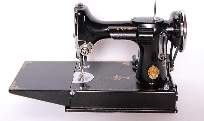 Singer Featherweight 221-1 Cara de desplazamiento de máquina de ...