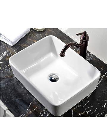 Bathroom Sinks Amazon Com Kitchen Bath Fixtures Bathroom