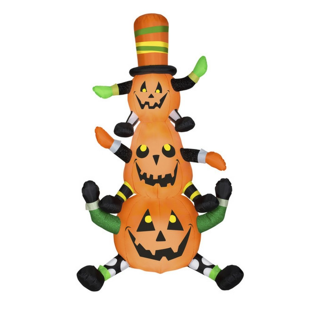 Airblown Inflatables Animated Whimsy Pumpkin Stack