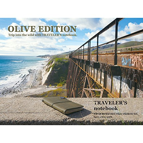 MIDORI TRAVELER'S notebook OLIVE EDITION 2017 Limited Photo #6