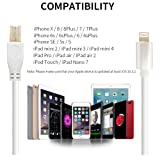 KINGONEUSB Type 2.0 Cable Compatible with iPhone, iPad, iPod
