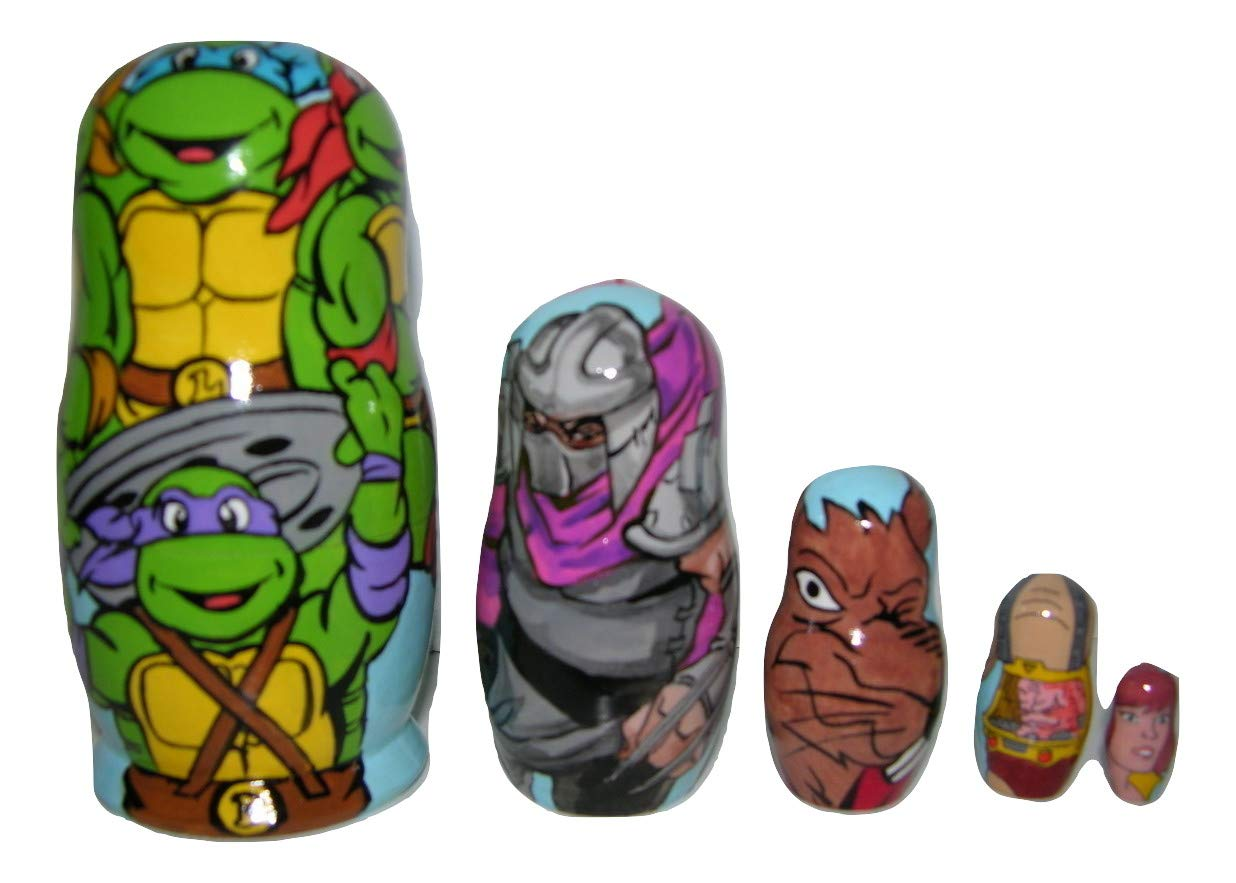 Amazon.com: Teenage Mutant Ninja Turtles nesting doll: Handmade
