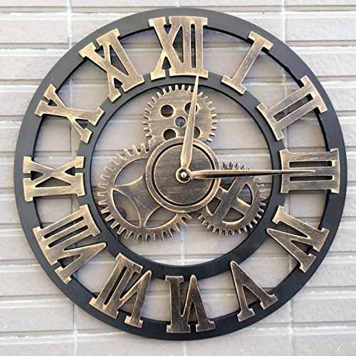 Retro Calendar Wall Clock - 7