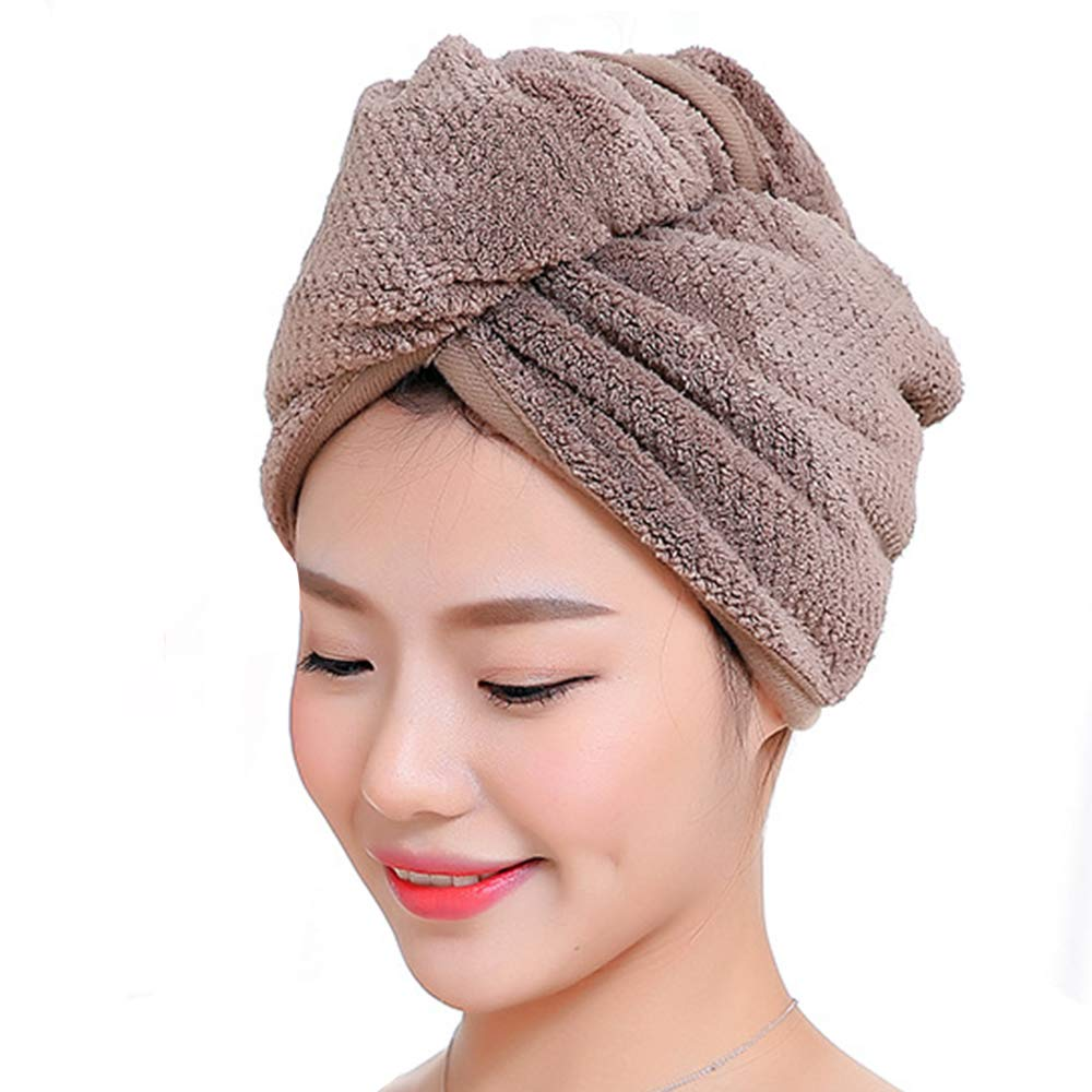 TFENG Luxury Hair Turban algodón Ligero (Color Aleatorio x 2): Amazon.es: Hogar