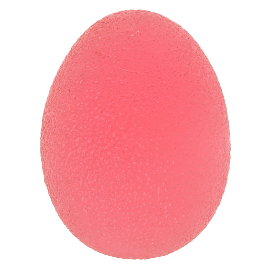 sawyedeerシリコングリップボール、復元Hand Therapy練習ボールキット卵形状シリコンHand Grippersグリップ手リラックスマッサージExerciser  Red(medium) B078J2XWY3
