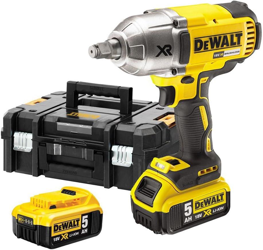 DEWALT DCF899HP2-QW - Llave Impacto a bateria sin escobillas XR 18V 1/2