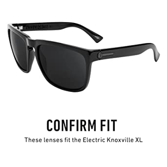 116f0af17f5 Amazon.com  Revant Polarized Replacement Lenses for Electric Knoxville XL  Elite Black Chrome MirrorShield  Sports   Outdoors