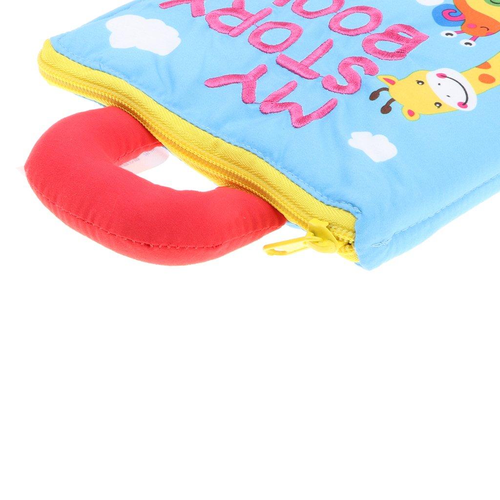Homyl Livre dEveil en Tissu B/éb/é Enfant pour B/éb/é Early Education D/éveloppement Toy