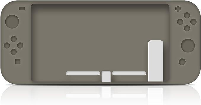 KuGi Nintendo Switch Funda Carcasa/Caso/Case, Nintendo Switch Funda Caja de TPU Suave Estilo de Esmerilado para Nintendo Switch.(Gris): Amazon.es: Electrónica
