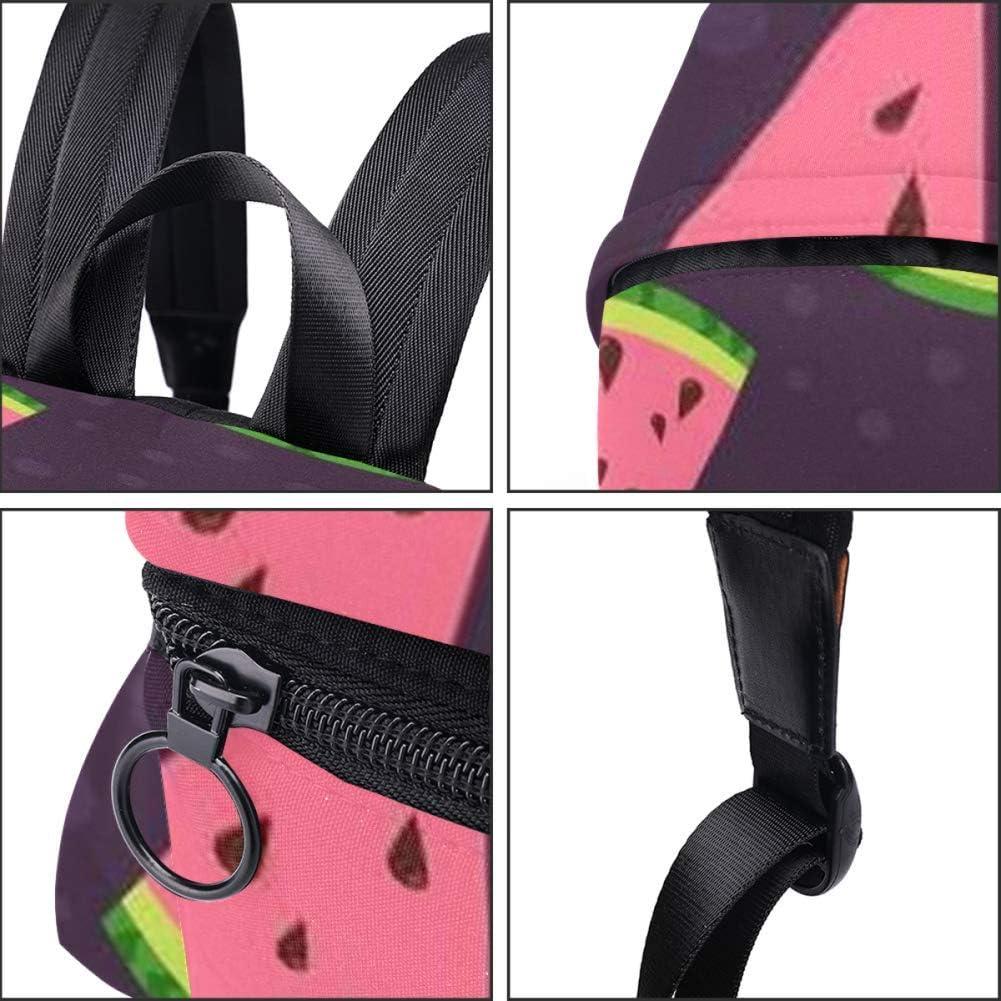Woman Backpack Watermelon Colorful Pattern Shoulder Bag Daypack for Girls School Bag
