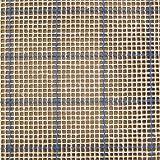 MCG Textiles 67554 Latch Hook Supplies Blue Lined 3 3/4 Mesh Graph N Latch Canvas 54 X 60