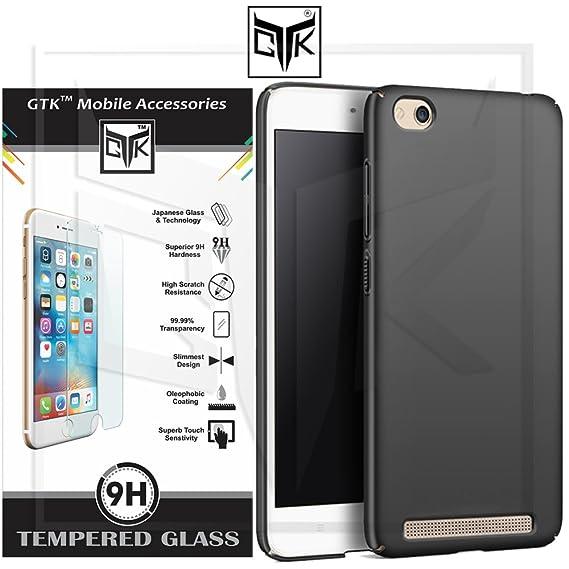 sale retailer fc6fa 91ad6 TheGiftKart Redmi 5A Tempered Glass + Back Cover - HD: Amazon.in ...
