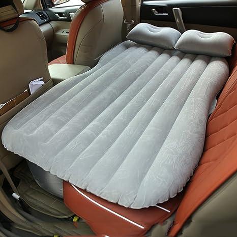 LiuJianQin ama inflable para coche ZXQZ La Cama Inflable del Coche Dividió La Cama De Viaje Al Aire Libre Móvil A Prueba De Choques De La Cama De Aire ...