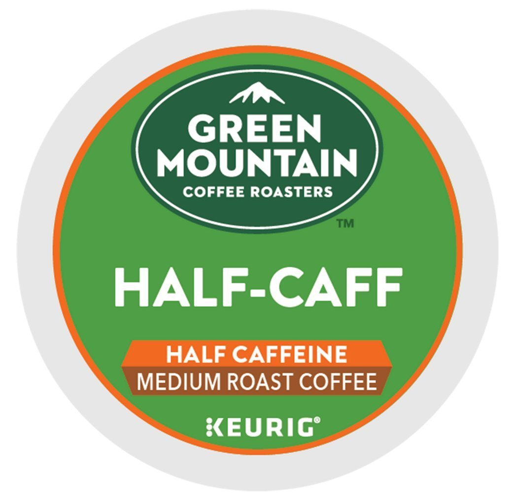 Green Mountain Coffee, Half-Caff K-Cups, 24-Count 74-06999