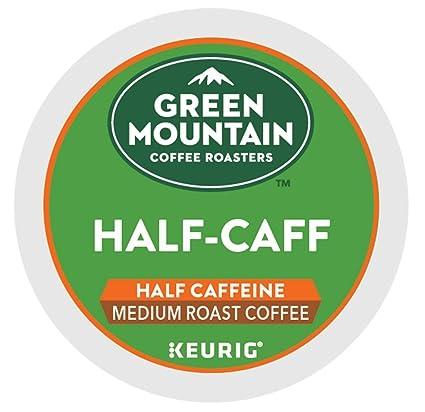 Green Mountain Coffee Roasters Half-Caff Keurig Single-Serve K-Cup ...