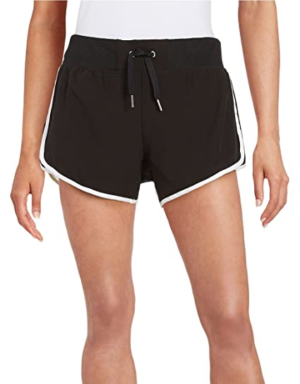 521b1f8436 Calvin Klein White Women's Large Drawstring Shorts Black L at Amazon ...
