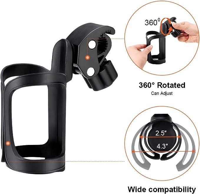 Amazon.com: Silla de ruedas soporte para vasos de bebida ...