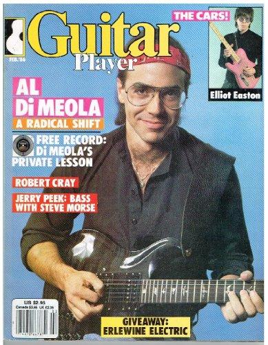 Guitar Player Magazine (February 1986) Al Di Meola / Robert Cray / Jerry Peek / The Cars - Elliot Easton - Elliot Easton Guitar