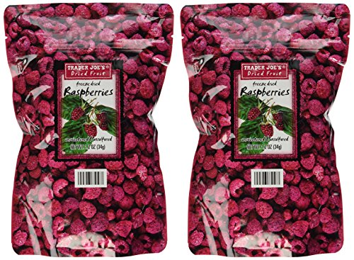 Trader Joe's Freeze Dried Raspberries (2 Pack) by Trader Joe's