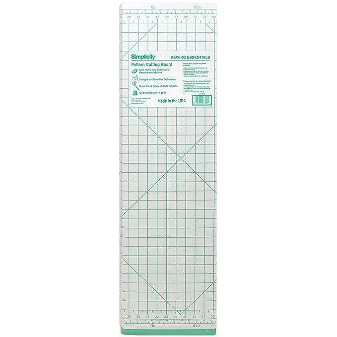 Amazon.com: Cardboard Pattern Sewing Cutting Board-36\