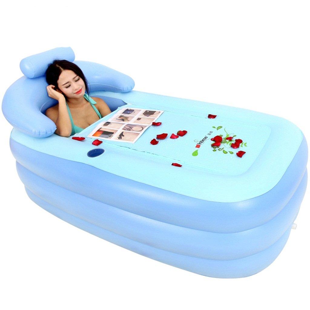 YONG SHOP- Gonfiabile Vasca Spesso adulti bambini pieghevole vasca da bagno del cotone della clip di isolamento antigelo