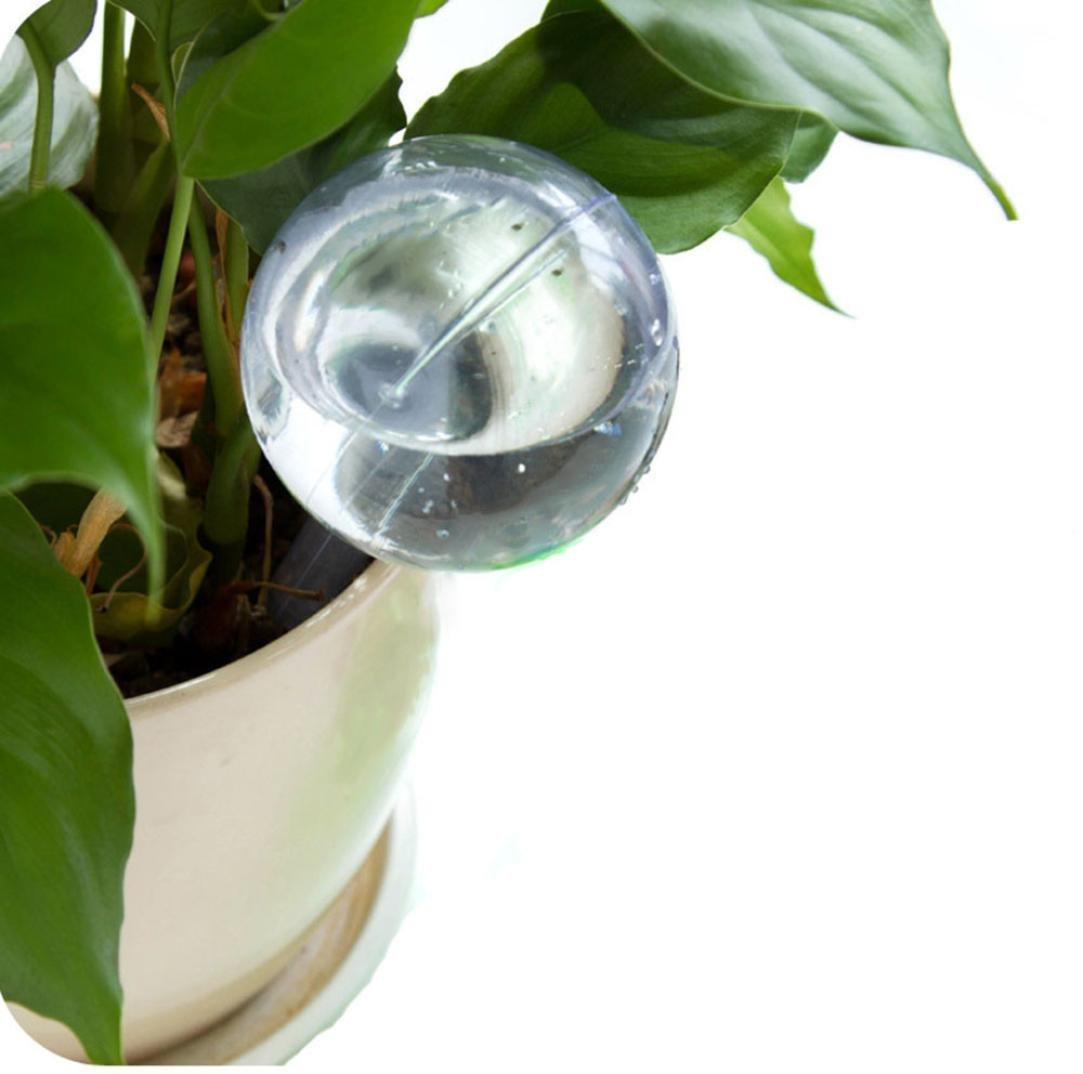 "Plant Self Watering Bulbs,MatureGirl Automatic Irrigation Device,Hand-Blown Mini Glass Automatic Plant Waterer Pot Bulb Globe for Patio, Lawn, Garden Pot Or Planter (13 * 5cm/5.12""*1.97"")"