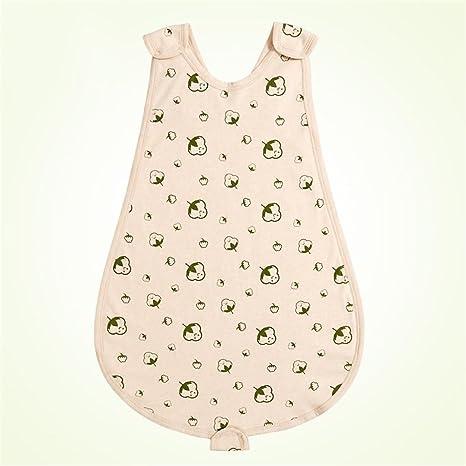 Sacos de dormir para bebé Verano sin mangas Ultra delgado recién nacido algodón suave transpirable tipo