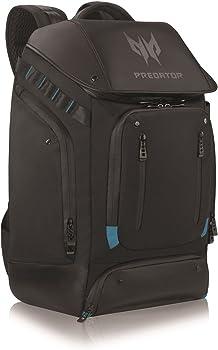 Acer Black Predator Notebook Gaming Utility Backpack