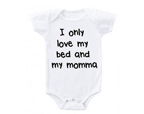 Baby Boys Iliogine Happy Birthday Mommy Moms Romper Bodysuit Jumpsuit Cloth