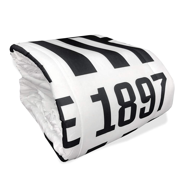 tex family Trapunta Singola 1 Piazza Juve Invernale Juventus con Cartolina Torino È