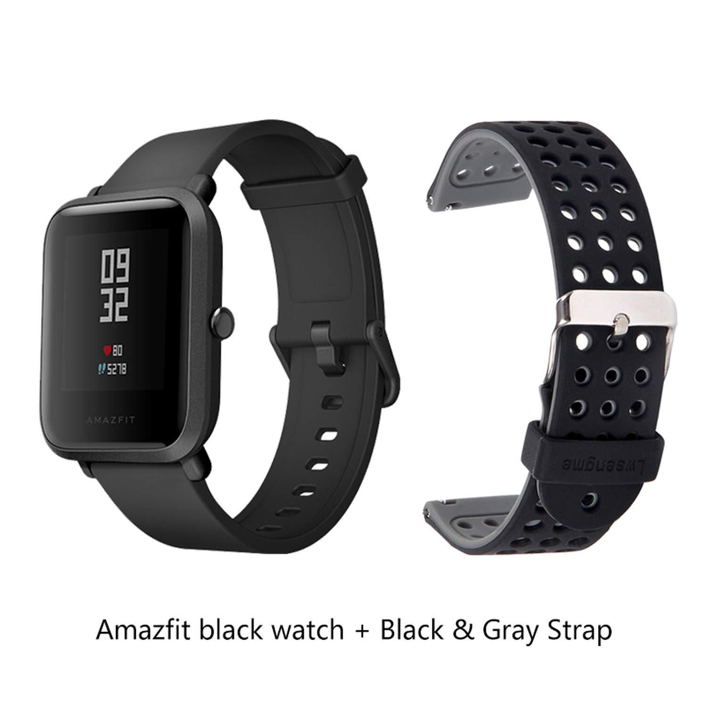 Amazon.com: International Version Beauty-OU Bip Smart Watch ...