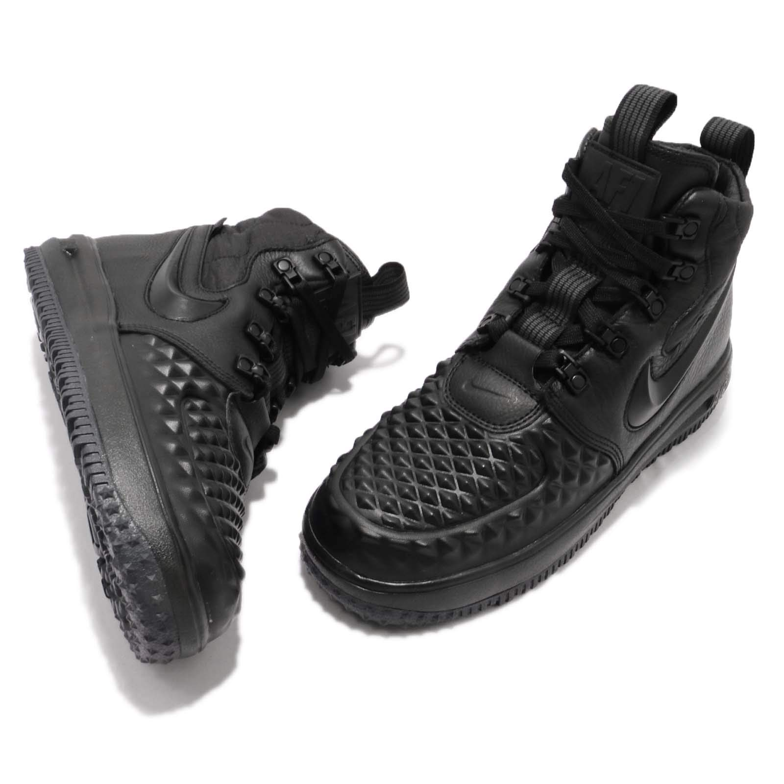 Nike Kid's LF1 Duckboot 17 GS, Black/Black-Anthracite, Youth Size 3.5 by Nike (Image #7)