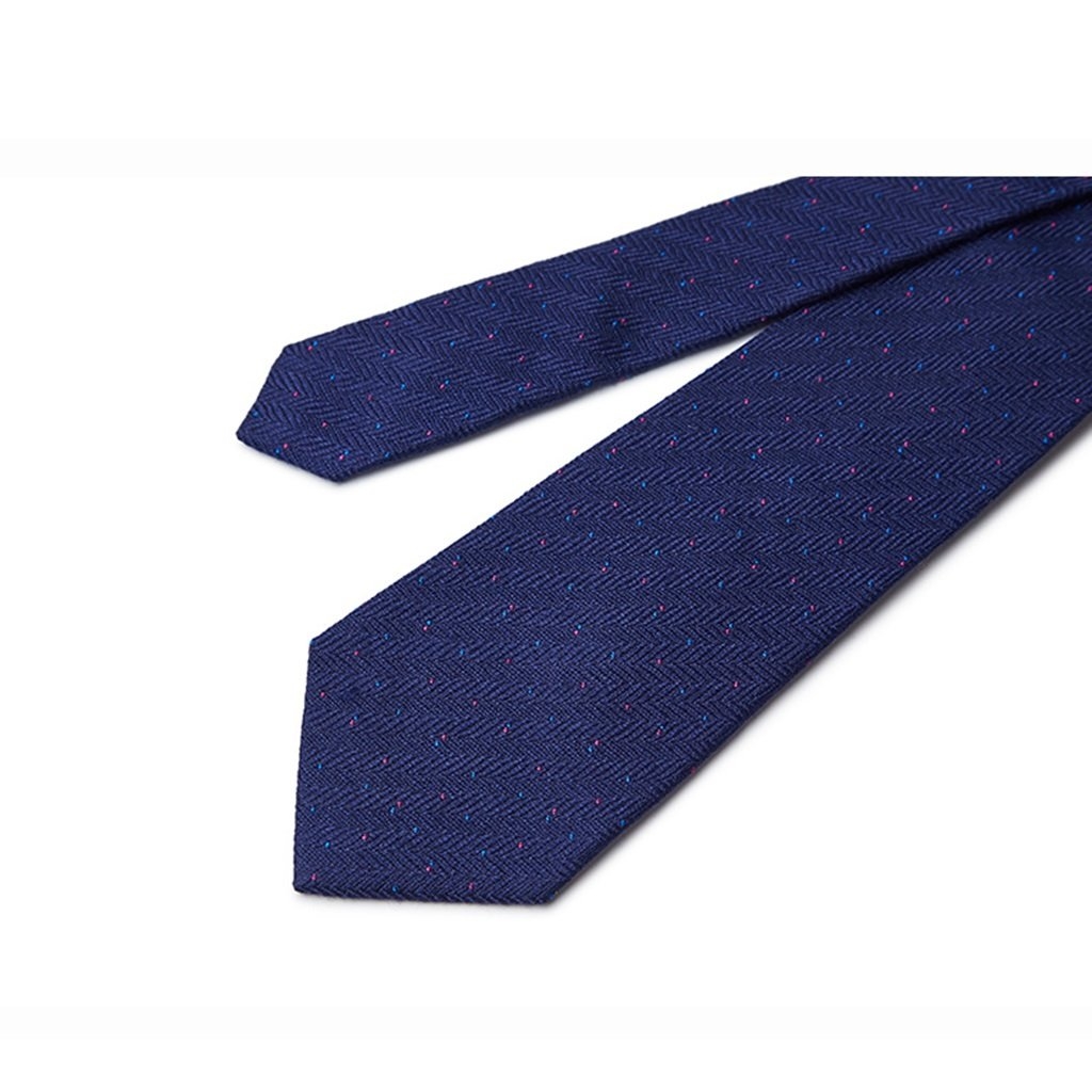Tie Pins Tie Male Formal Clothes Business Korean Bridegroom Casual self-Cultivation Style European and American Fashion Mature Banquet 45/% Silk and 55/% Cotton Clips