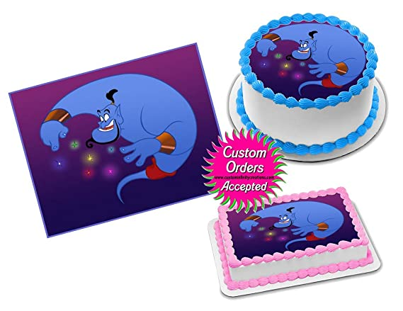 WHALE ! Edible Cake Topper Image Frosting Sheet  quarter half sheet round