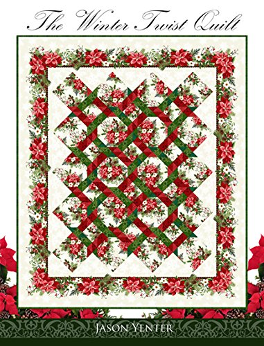 The Winter Twist Christmas Pattern Book by Jason Yenter~ Quilts, Table Runners, Tree Skirts