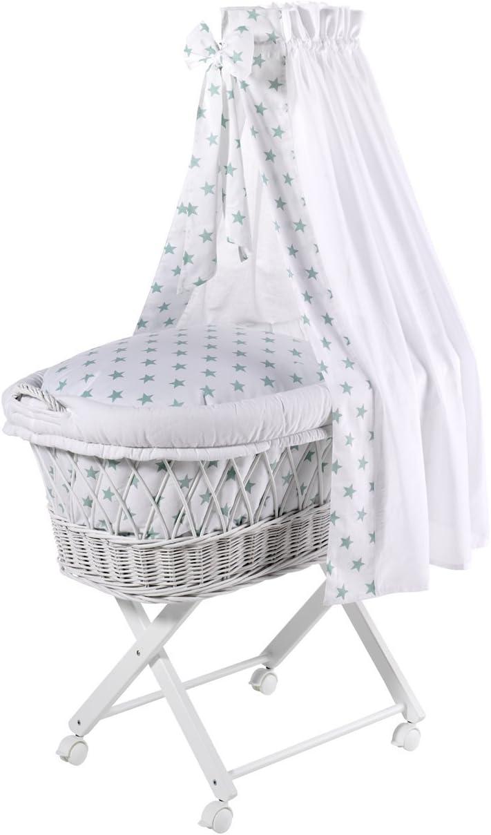 Capazo para beb/é con ropa de cama color blanco beige Schardt 09 812 00 02 1//722