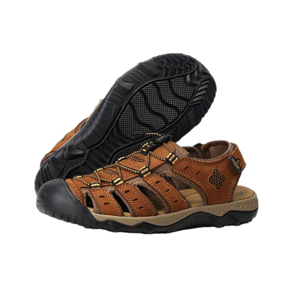 Meijunter Meijunter Meijunter Männer Beiläufig Strandschuhe Sandalen Wasserdicht Leder Hausschuhe Draussen Sport Schuhe be0c38