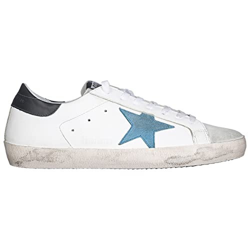 info for 0297b e0bab GOLDEN GOOSE scarpe sneakers uomo vintage SUPERSTAR G32MS590 ...